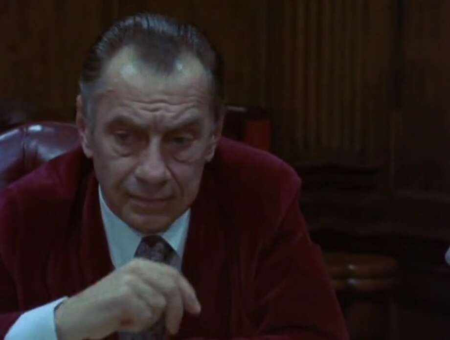 "Philip Baker Hall as Richard Nixon in ""Secret Honor"""