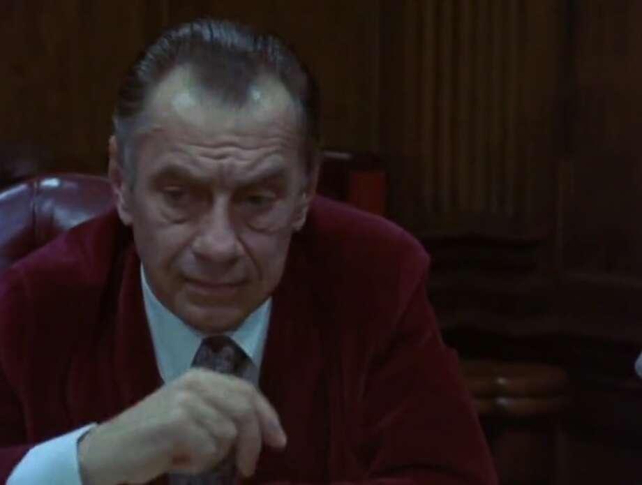 "Philip Baker Hall as Richard Nixon in ""Secret Honor"""