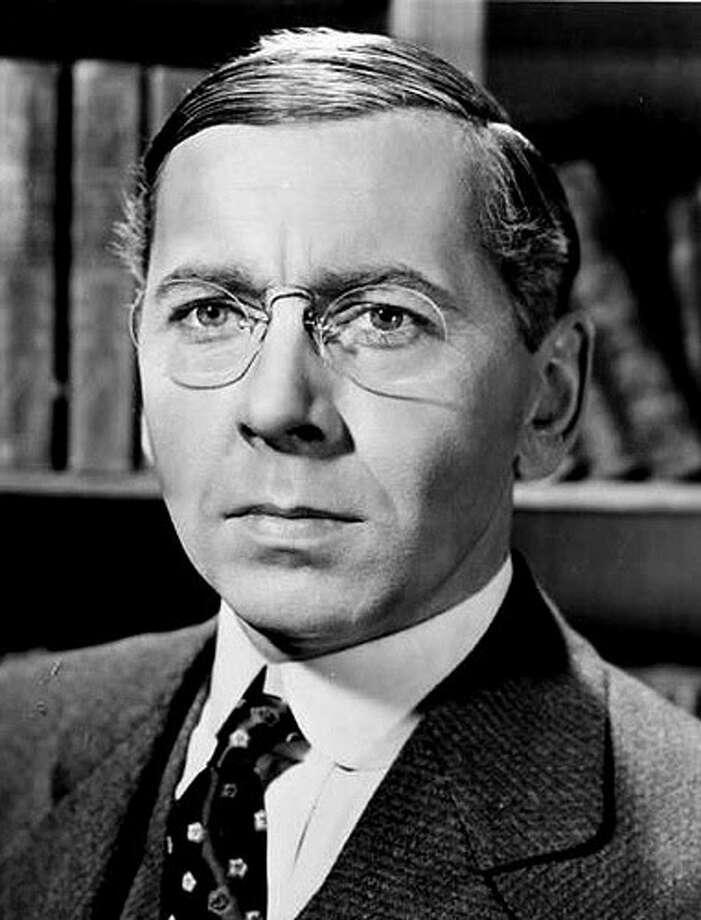 """Alexander Knox as Woodrow Wilson in """"Wilson"""""""