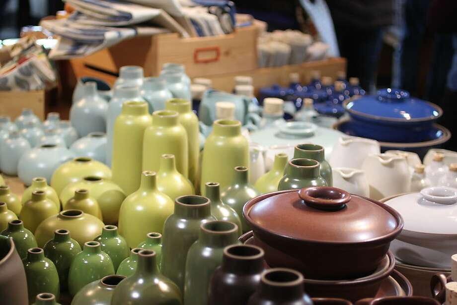 Sausalito's Heath Ceramics offers factory tours this weekend, and extra markdowns Nov. 16-25. Photo: Courtesy Heath Ceramics