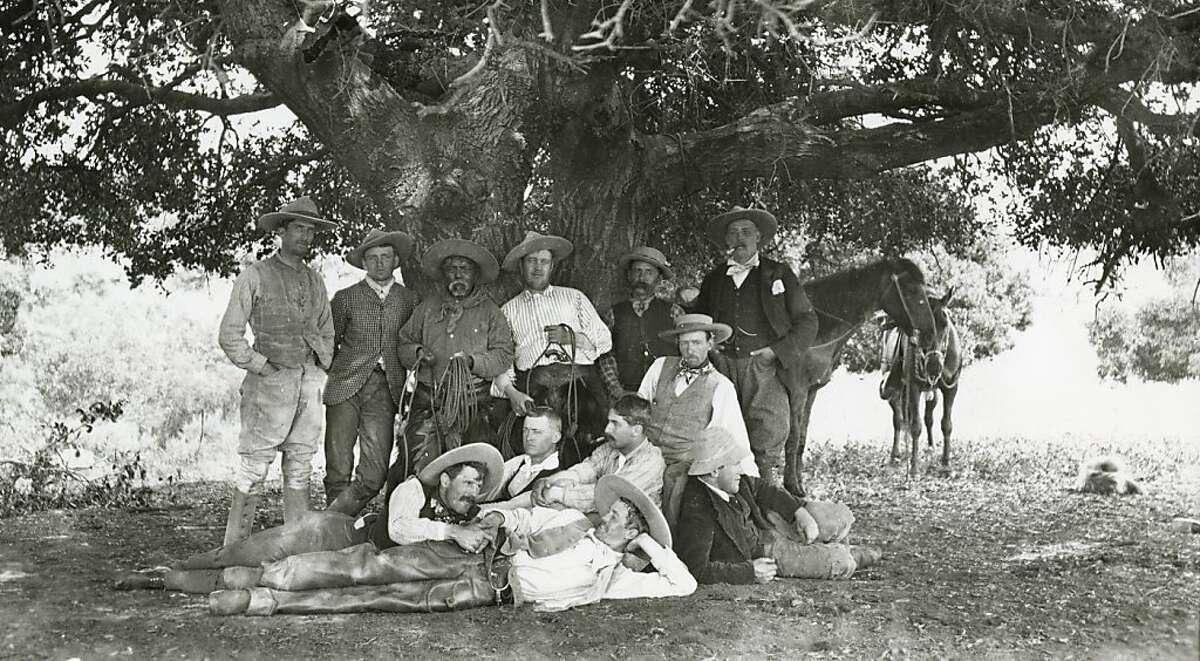 OV-RURAL 5.jpg A group of cowboys poses for a photograph at Rancho Santa Anita around 1890. Courtesy of California Historical Society