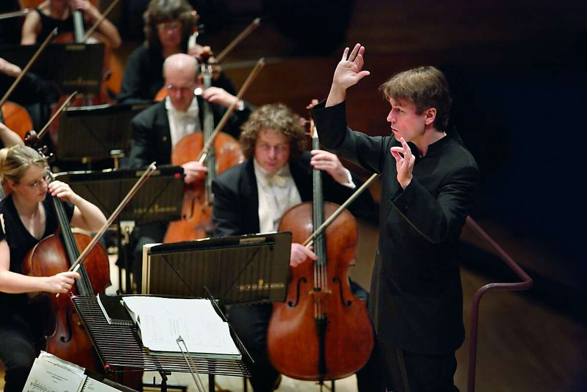 Conductor Esa-Pekka Salonen, who conducts the Philharmonia Orchestra at Cal Performances in November 2012