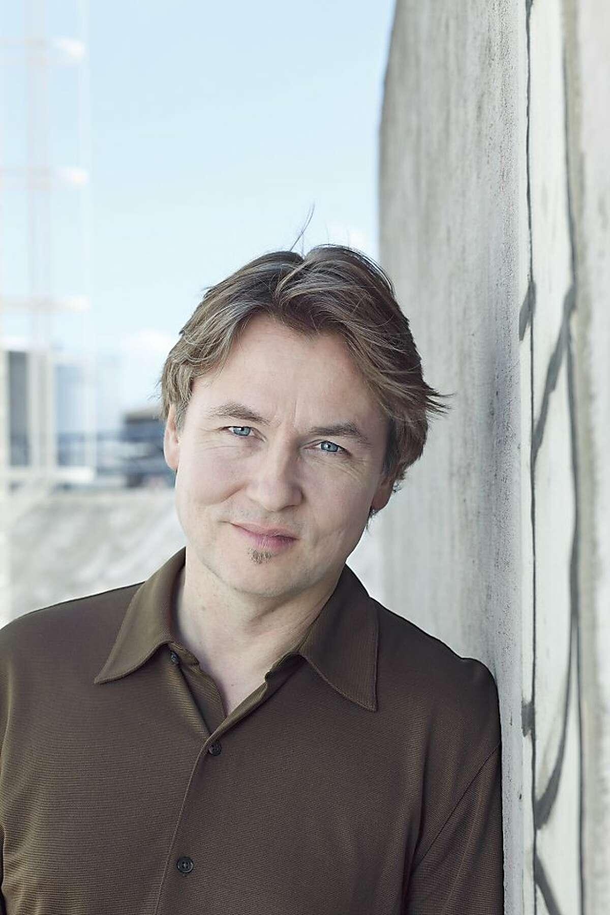 Composer and conductor Esa-Pekka Salonen