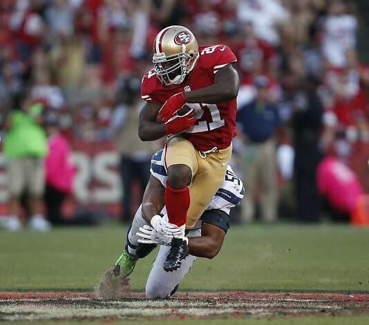 Nearing 30, running back Frank Gore is having his best season in years. Photo: Stephen Lam, Special To The Chronicle