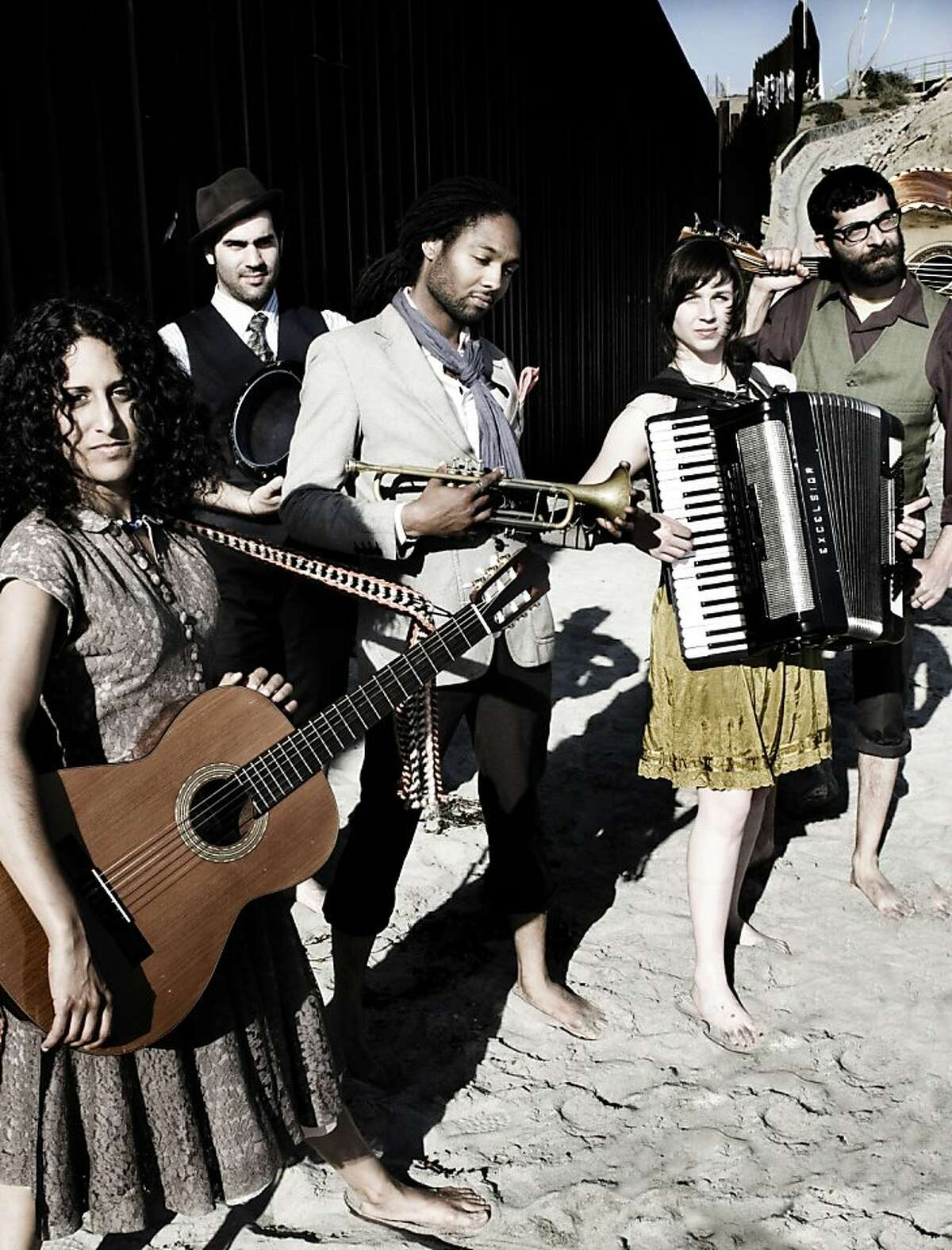 Rupa and the April Fishes perform Sunday at the Peninsula Jewish Community Center.