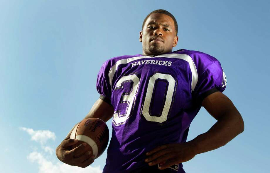 Morton Ranch running back Deion Williams is still recovering from his 49-carry masterpiece on Friday. Photo: Brett Coomer, Houston Chronicle / © 2012 Houston Chronicle