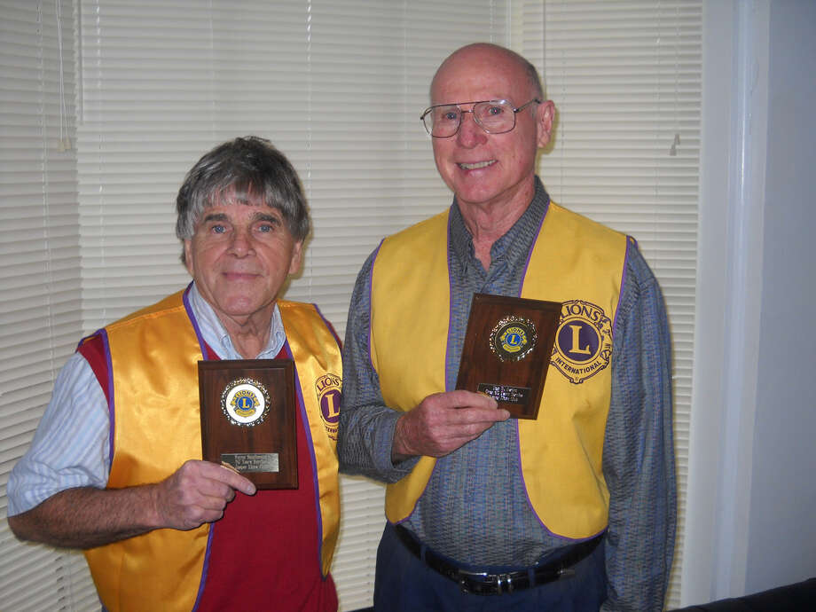 Jasper Lions honor members Photo: Courtesy Photo