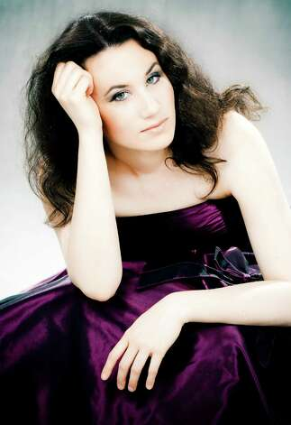 Pianist Martina Filjak joins the San Antonio Symphony for this weekend's classical performance. Courtesy San Antonio Symphony