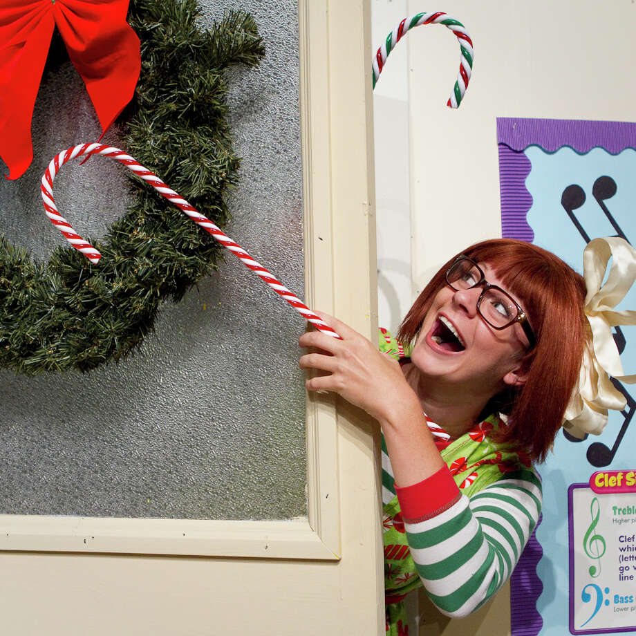 "Kacey Griffin as Junie B. Jones in the Magik Theatre's ""Junie B. Jones in Jingle Bells, Batman Smells"" Photo: Courtesy Photo"