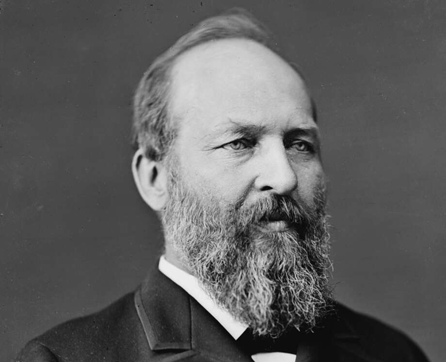 "James A. Garfield's Bible was open to Proverbs 21:1. ""The king's heart is in the hand of the Lord, like the rivers of water; He turns it wherever He wishes."""