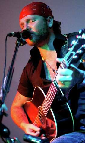 Red Dirt singer Stoney LaRue plays Saturday at Cowboys. Courtesy photo Photo: Courtesy Photo