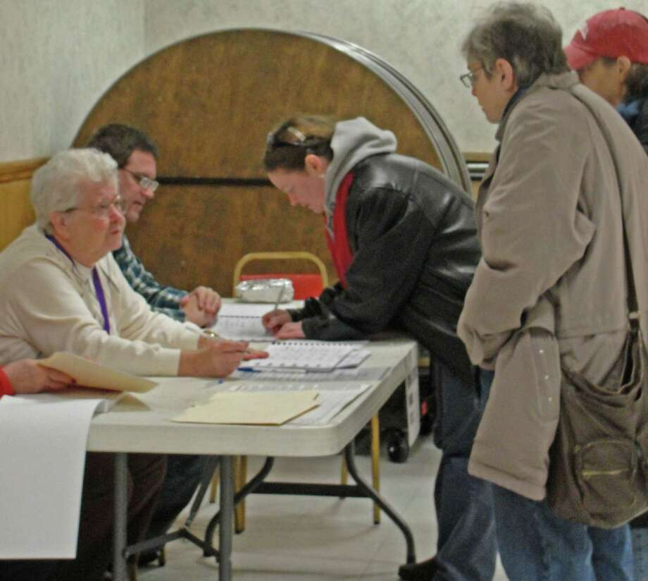 Were you Seen participating in the electoral process in the Capital Region on Tuesday, Nov. 6, 2012? Photo: Amanda Pellegrin/New Visions:Journalism & Media Studies