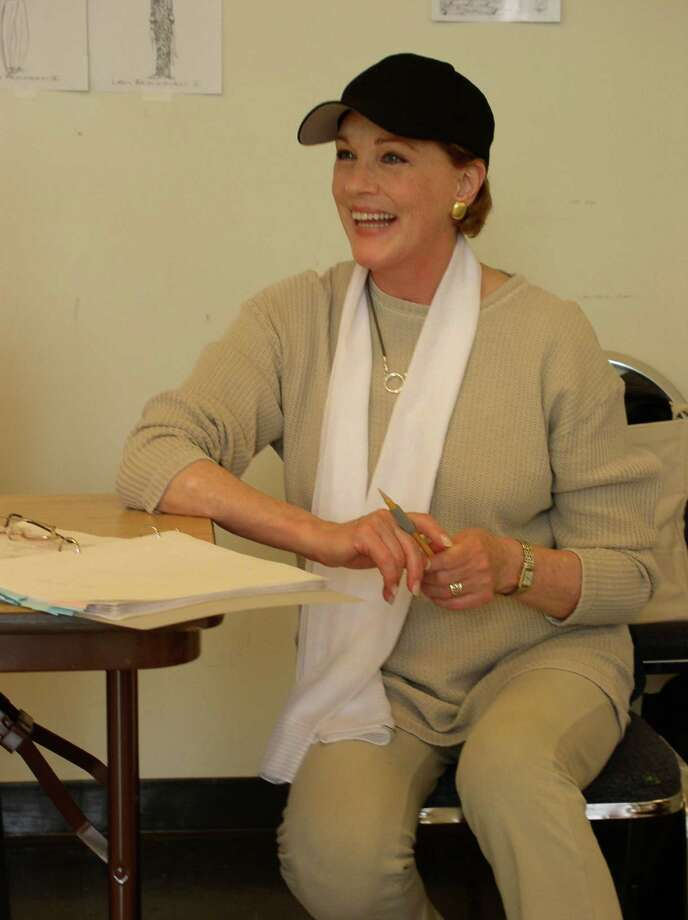 "Julie Andrews is directing a new musical at Goodspeed Musicals' Norma Terris Theatre in Chester, ""The Great American Mousical,"" that is running through Dec. 2. Andrews scored a big hit for Goodspeed Musicals in 2005 with her staging of ""The Boyfriend."" Photo: Contributed Photo"