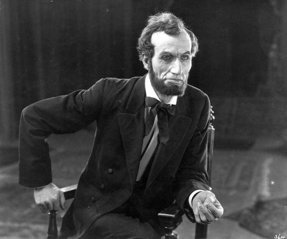 "Joseph Henabery as Abraham Lincoln in ""Birth of a Nation"""