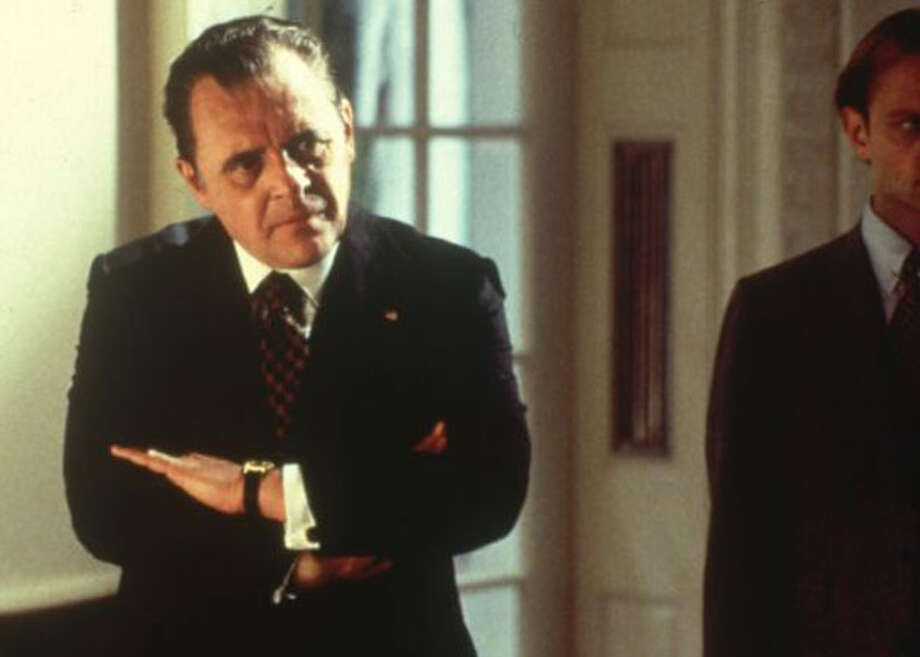 "Anthony Hopkins as Richard Nixon in ""Nixon"""