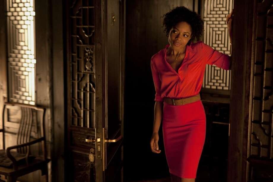 Naomie Harris stars in SKYFALL.    ( Francois Duhamel)