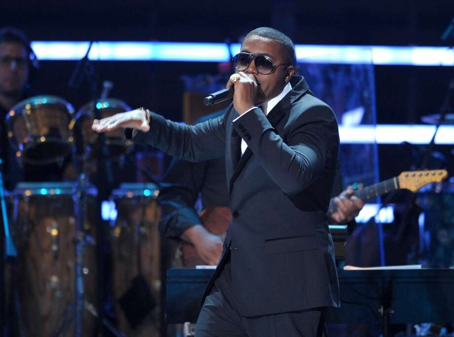 Nas performs onstage at the ESPY Awards on Wednesday, July 11, 2012, in Los Angeles. (Photo by John Shearer/Invision/AP) (JOHN SHEARER/INVISION/AP)