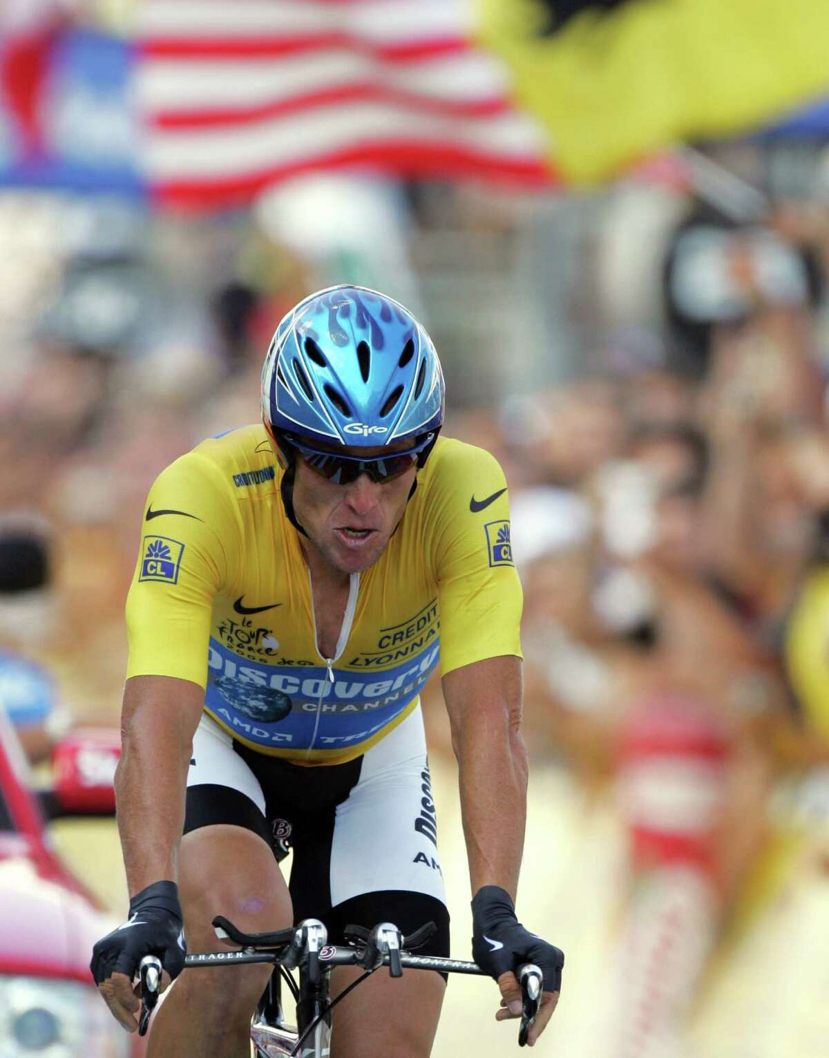 A reader comments on the doping tests taken by cyclist Lance Armstrong.