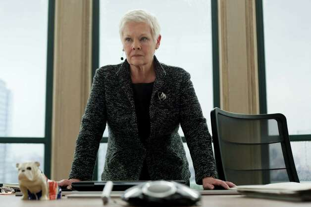 Judi Dench stars in Metro-Goldwyn-Mayer Pictures/Columbia Pictures/EON Productionsí action adventure SKYFALL. Photo: Francois Duhamel