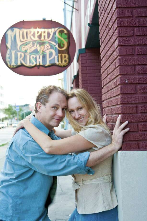 Philip Lehl and his wife, Kim Tobin-Lehl, directors of Stark Naked Theatre Company Photo: Handout