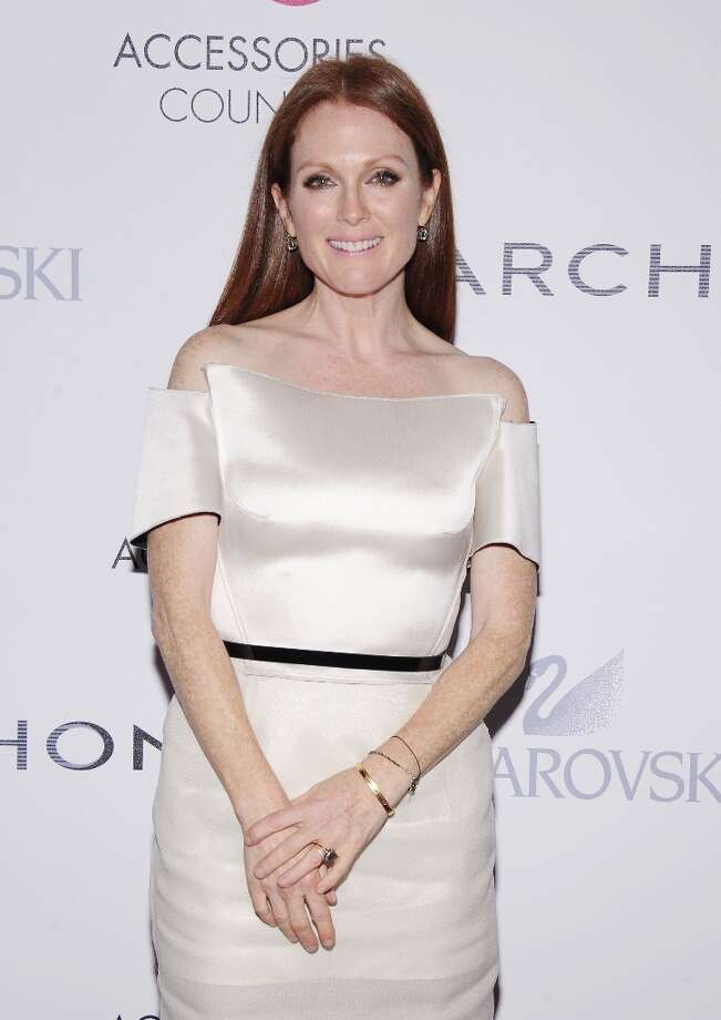 Actress Julianne Moore attends the 16th Annual ACE Awards presented by the Accessories Council at Cipriani 42nd Street on November 5, 2012 in New York City. Photo: Jamie McCarthy, Getty Images For Accessories Cou / 2012 Getty Images