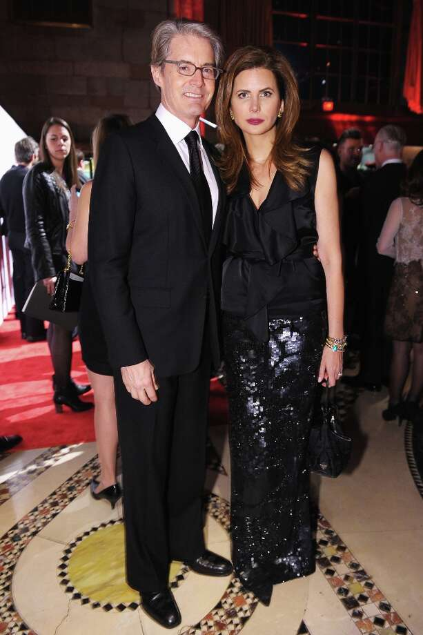 Kyle MacLachlan and Desiree Gruber attend the 16th Annual ACE Awards presented by the Accessories Council at Cipriani 42nd Street on November 5, 2012 in New York City. Photo: Michael Loccisano, Getty Images For Accessories Cou / 2012 Getty Images