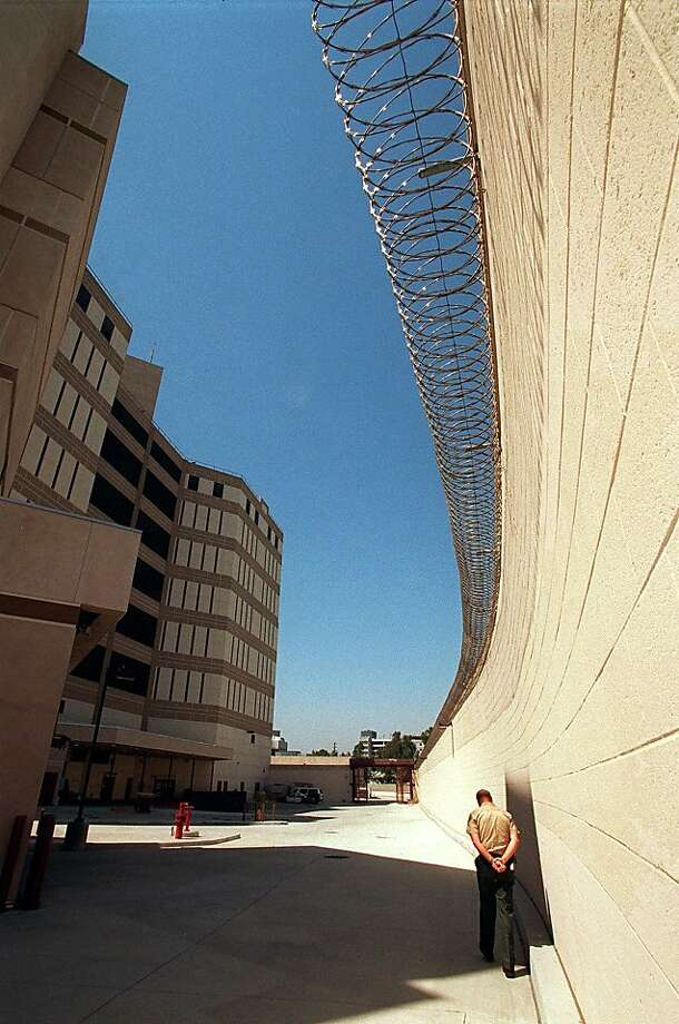 The Twin Towers Correctional Facility in Los Angeles participated in a pilot program where some deputies wore cameras because of allegations of abuse. Photo: Damian Doverganes, Associated Press