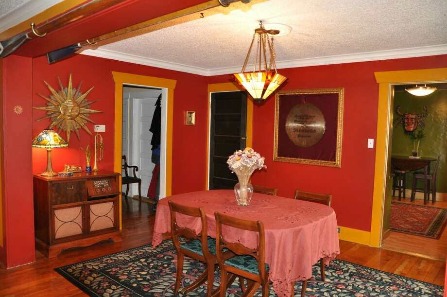 Dining room of 3411 42nd Ave. S.W. The 2,500-square-foot house, built in 1914, has four bedrooms, including a unique loft with a vaulted ceiling, two bathrooms, a lower-level rec room, a deck and a patio on a 5,000-square-foot lot. It's listed for $479,000. Photo: Courtesy Tanya Edwards/Prudential Northwest Realty Associates