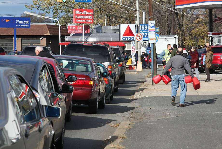 In Hackensack, N.J., and elsewhere, gas in demand. Photo: Chris Pedota, Associated Press