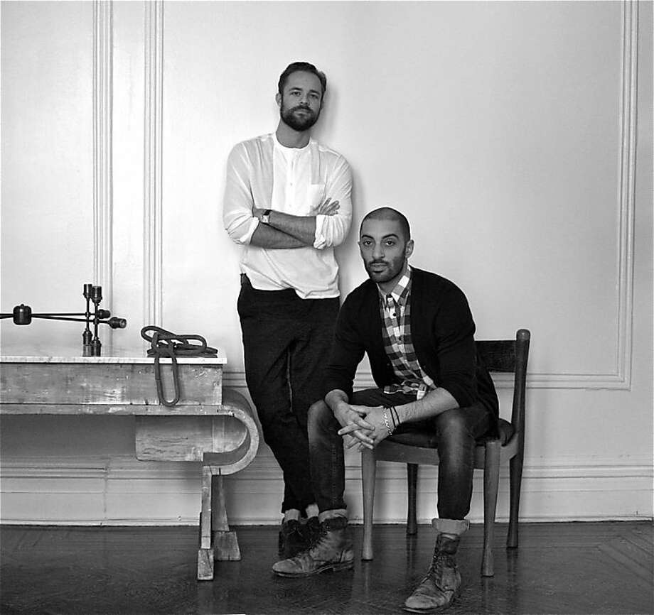 Jeremy Anderson and Gabriel Hendifar of lighting studio Apparatus. Photo: Courtesy Apparatus