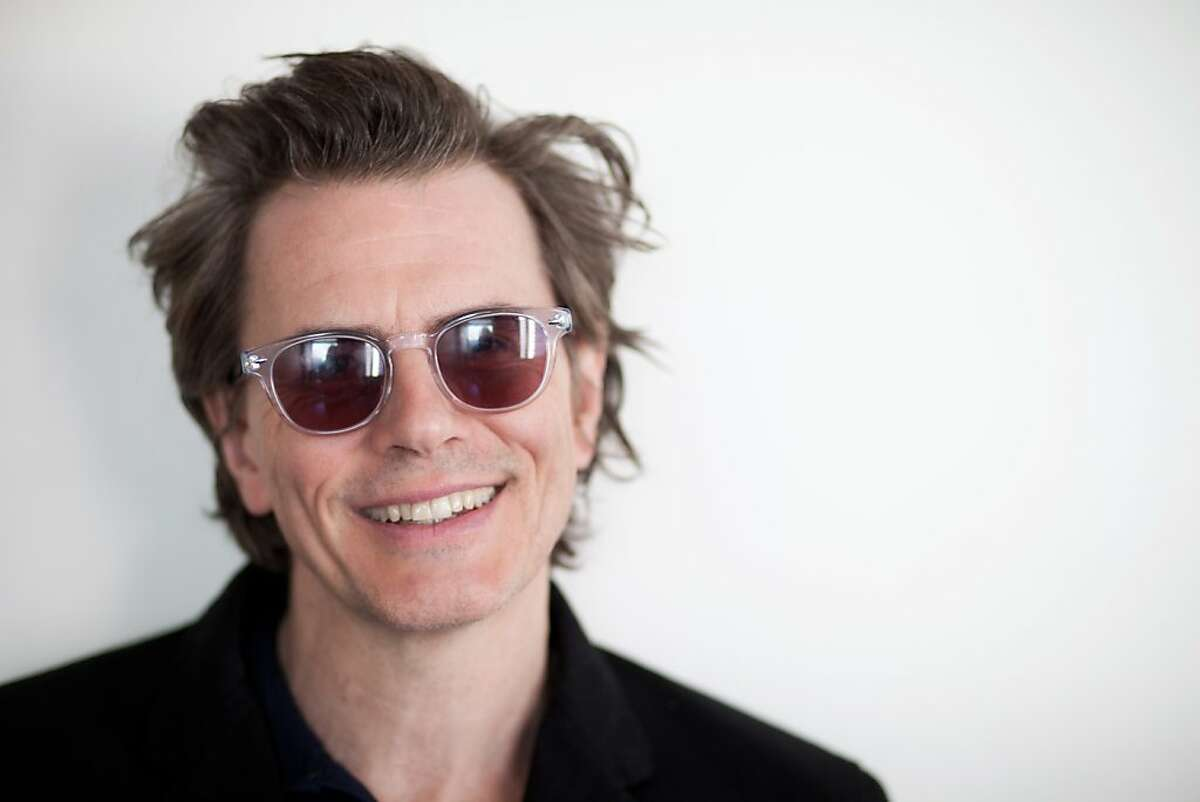 Duran Duran bassist and co-founder John Taylor at his hotel room in San Francisco on Oct. 25, 2012. He was in town to sign copies of his new autobiography,