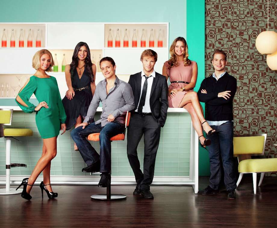 START-UPS: SILICON VALLEY -- Season 1 -- Pictured: (l-r) Sarah Austin, Kim Taylor, Ben Way, Dwight Crow, Hermione Way, David Murray -- (Photo by: Emily Shur/Bravo)Airdate:Mondays on Bravo (10-11 p.m. ET) Photo: Emily Shur, Bravo / 2012 Bravo Media, LLC