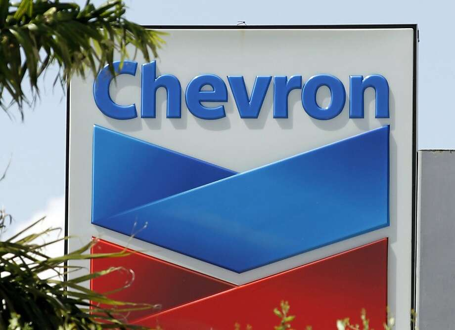 Chevron's fourth-quarter profit is expected to grow 12 percent. Photo: Alan Diaz, Associated Press