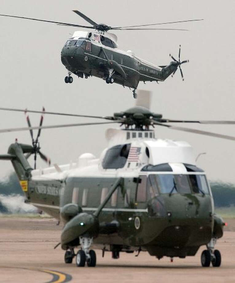 United Technologies Corp. the parent of Stratford-based Sikorsky Aircraft, which makes the President's helicopter, saw shares lifted 2.66 percent higher to $79.97 on Election Day. The company is heavy on defense but investors don't seemed convinced whoever wins won't allow sequestration to go through. (AP Duane Laverty / AP)