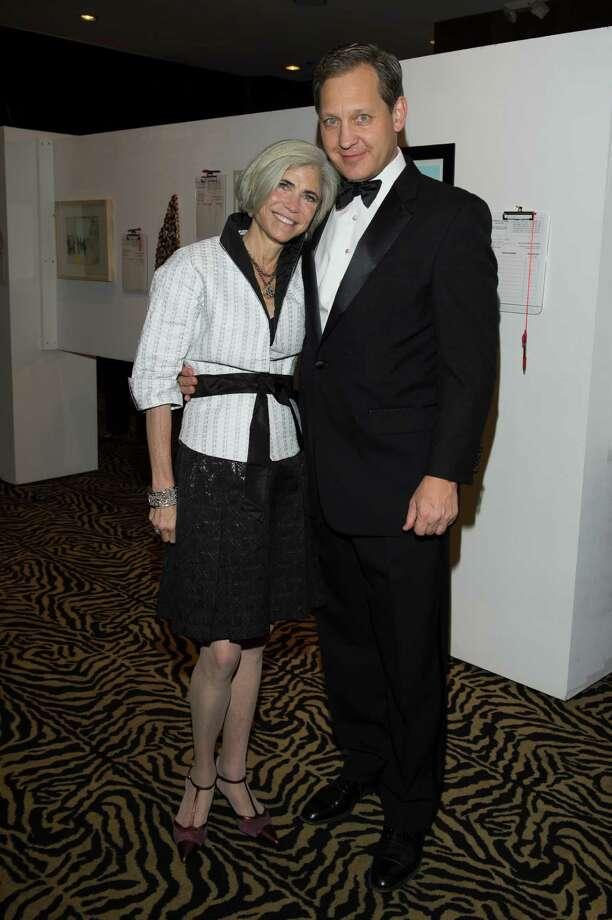 Honorees Judy and  Scott Nyquist Photo: Fulton Davenport