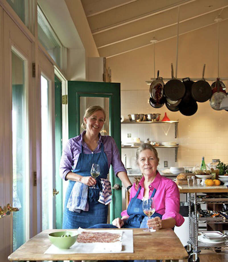 "Melissa Hamilton, left, and Christopher Hirsheimer are the authors of  ""Canal House Cooks Every Day."" Photo: Andre Baranowski"