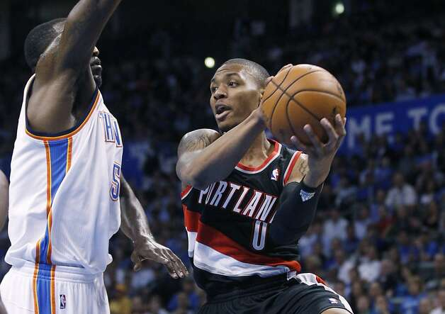 Portland's Damian Lillard (Oakland High) leads all NBA rookies in scoring, assists and minutes. Photo: Sue Ogrocki, Associated Press