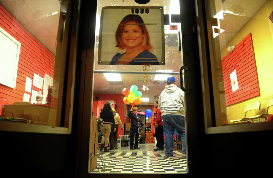 A view of Christina Ayala's headquarters on East Main Street in Bridgeport, Conn. on Tuesday November 6, 2012. Ayala is the expected winner for the state representative seat in the 128th district. Photo: Christian Abraham / Connecticut Post