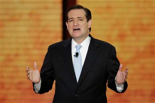 Senate candidate Ted Cruz of Texas addresses the Republican National Convention in Tampa, Fla., on Tuesday, Aug. 28, 2012. Photo: J. Scott Applewhite, AP / AP