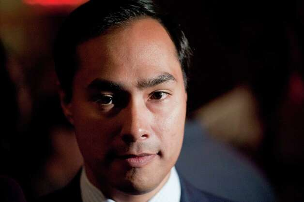 US House of Representatives candidate Joaquin Castro is seen during his election night reception, Tuesday, Nov. 6, 2012, at Henry's Puffy Tacos in San Antonio. Photo: Darren Abate, Darren Abate/For The Express-New