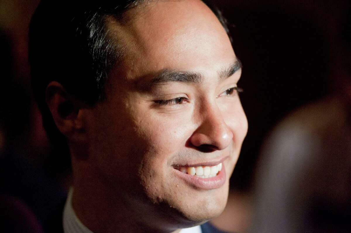 US House of Representatives candidate Joaquin Castro is seen during his election night reception, Tuesday, Nov. 6, 2012, at Henry's Puffy Tacos in San Antonio.