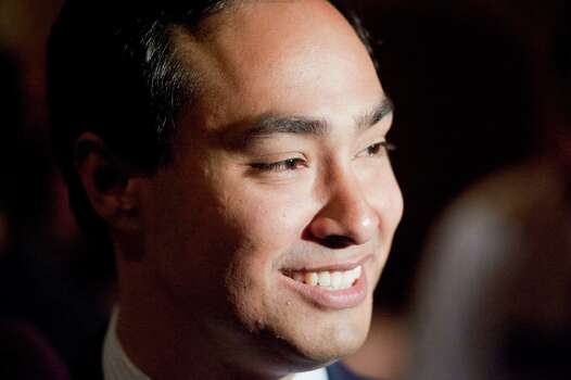 US House of Representatives candidate Joaquin Castro is seen during his election night reception, Tuesday, Nov. 6, 2012, at Henry's Puffy Tacos in San Antonio. Photo: Darren Abate, For The Express-News / San Antonio Express-News