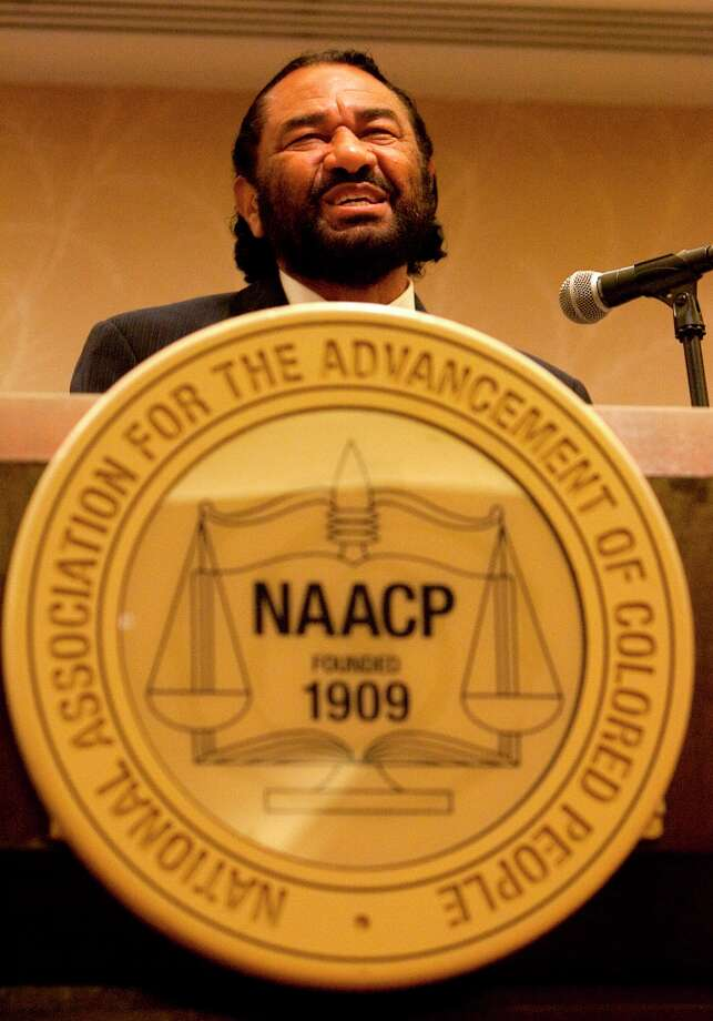 Representative Al Green speaks during a press conference opening the NAACP 103rd National Convention at the Hilton Hotel Friday, July 6, 2012, in Houston. (Cody Duty / Houston Chronicle) Photo: Cody Duty, Houston Chronicle / © 2011 Houston Chronicle