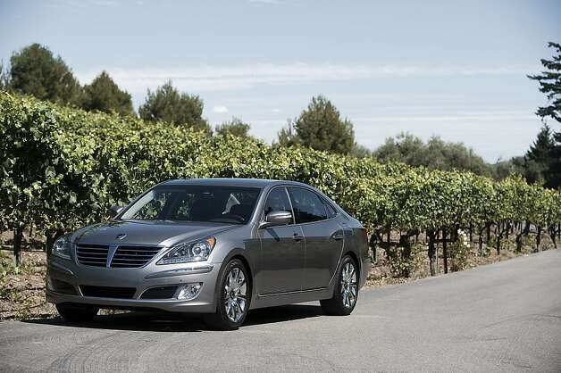 Photos of the 2012 Hyundai Equus. Photo: Hyundai