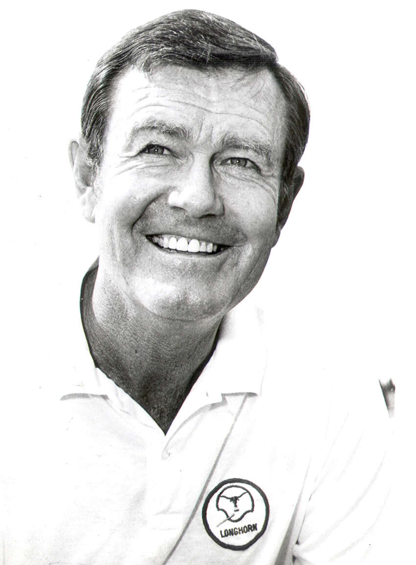 University of Texas coach Darrell Royal in 1976.