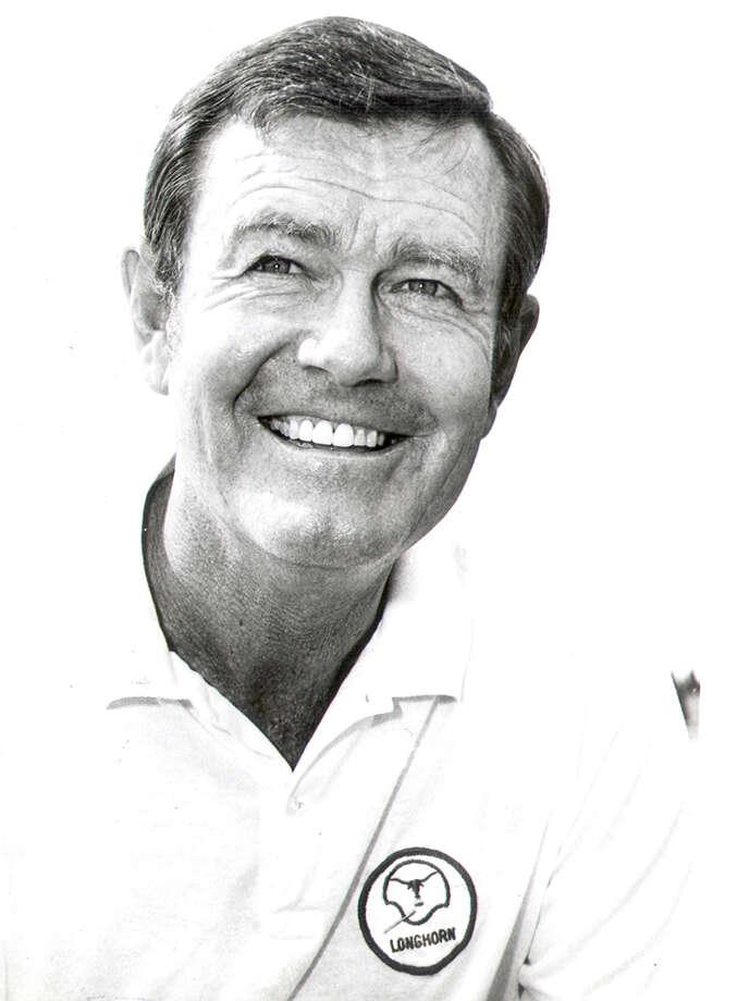 University of Texas coach Darrell Royal in 1976.