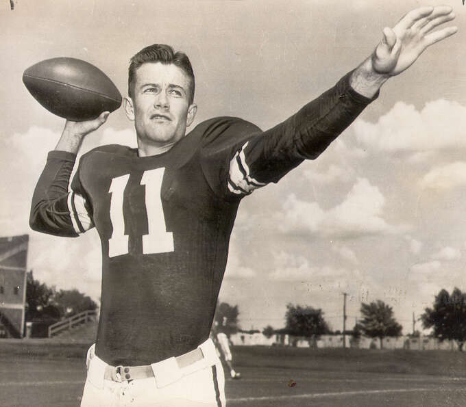 Darrell Royal was a star split T quarterbaack at Oklahoma was named head football coach at Mississip