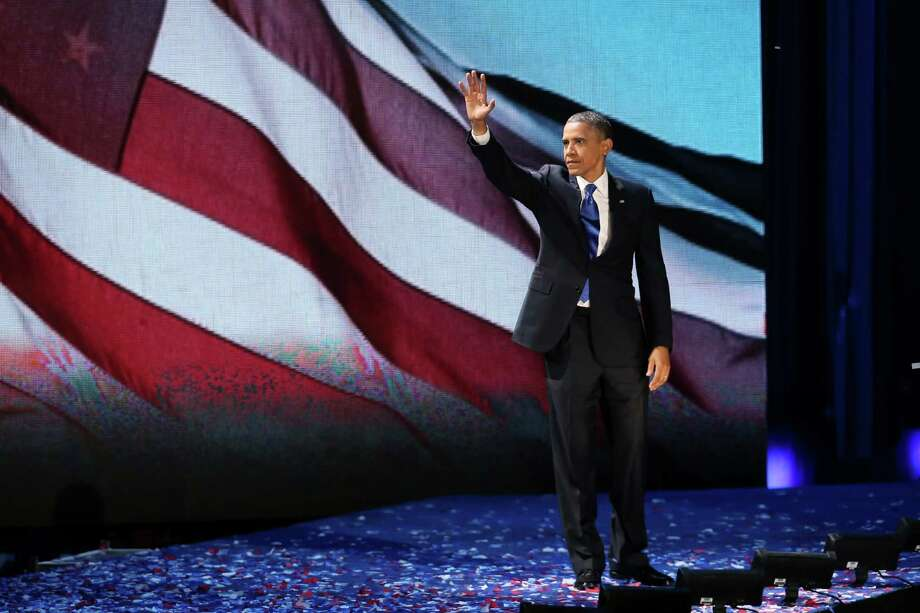 President Obama acknowledges a cheering crowd before his victory speech in Chicago, but our readers think the electoral process is in need of reform. Photo: Win McNamee, Getty Images / 2012 Getty Images