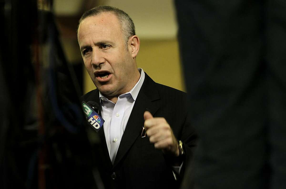 California State Senate President Pro Tempore Darrell Steinberg, joins supporters of the