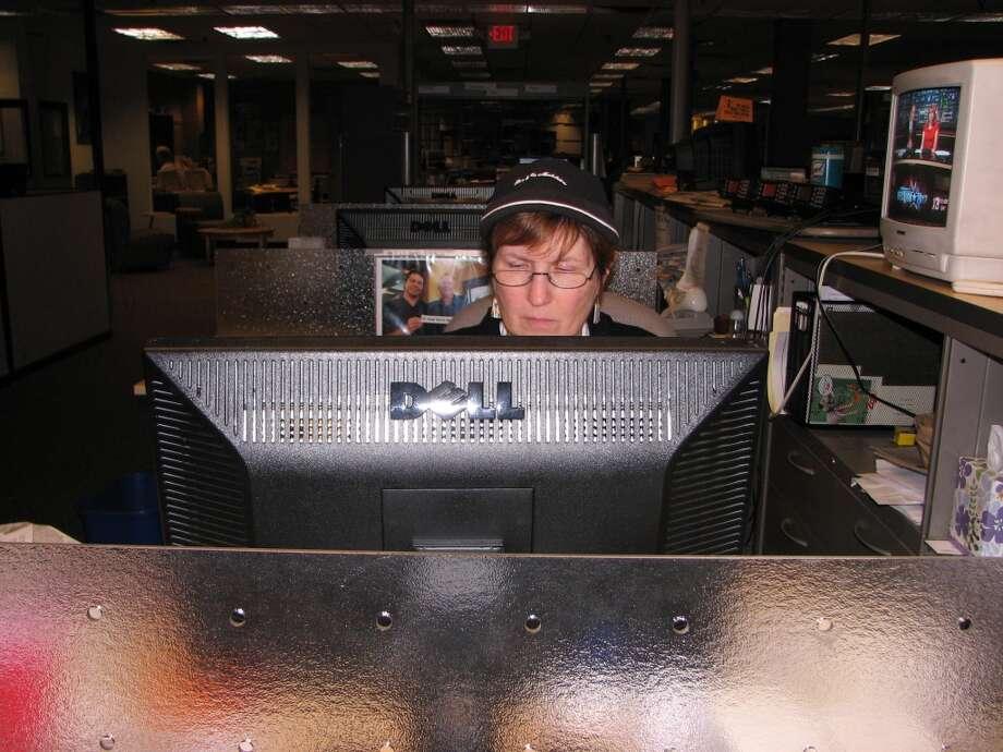 Senior Editor Teresa Buckley sports a stylish chapeau.
